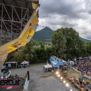 Leadweltcup in der Klettererstadt Arco (Foto: Eddie Fowke / TheCircuitClimbing)