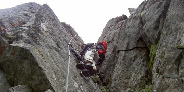 Noch mehr sportliche Möglichkeiten - Klettersteig zum Pockkogel, Foto: Jürgen Domjahn