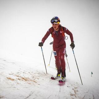 Anton Palzer bei seinem letzten Rennen als Skibergsteiger - Foto: Maurizio Torri