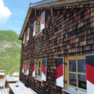 Memminger Hütte, Foto: Xaver Wankerl
