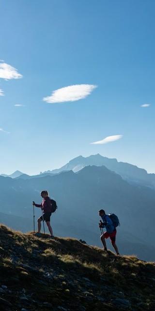 Unterwegs auf dem Tauernhöhenweg, Foto: DAV/Franz Gerdl