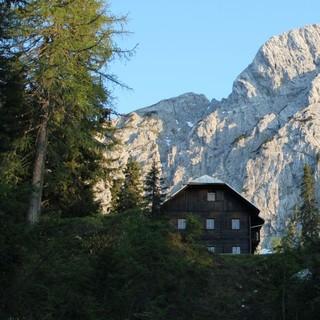 Die Comptonhütte, Foto: Herzog