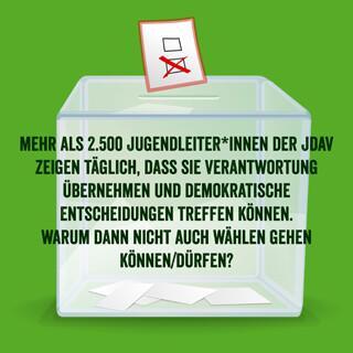 Wahlrune mit Jugendleiter*innen Verantwortung, Foto: JDAV/pixabay