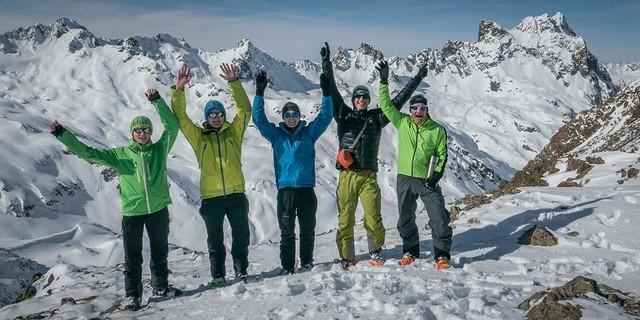 Gipfelglück im Winter, Foto: JDAV/Christoph Hummel