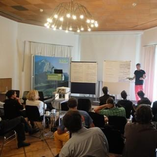 Experten diskutieren im Haus des Alpinismus
