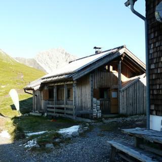 Kaiserjochhaus...Vorher