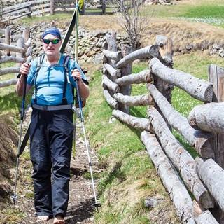 Der Weg übers Melagtal zum Weißseejoch ist von bergbäuerlicher Kultur geprägt. Foto: Markus Stadler