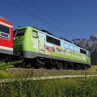 Mit Köpfchen und Technologie entspannt in die Berge. Foto: DB Regio