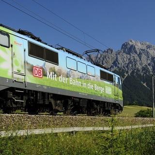 Mit der Bahn in die Berge