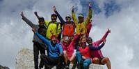 Der Expedkader der Frauen 2019 auf der Abschlussexpedition in Himal-Pradesh, Indien. Foto: DAV