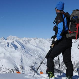 Traumblicke auf die Dolomiten vom Marchkinkele. Foto: Stefan Herbke