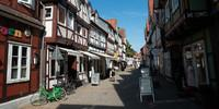Das größte Fachwerkensemble Europas gibt es in Celle zu bestaunen. Foto: Christof Herrmann