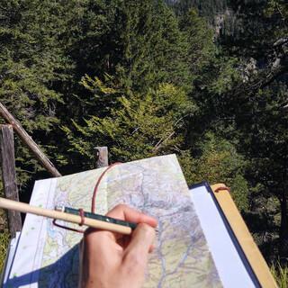 Kartogr-Arbeiten-Geländebegehung-DAV Nico Gareis