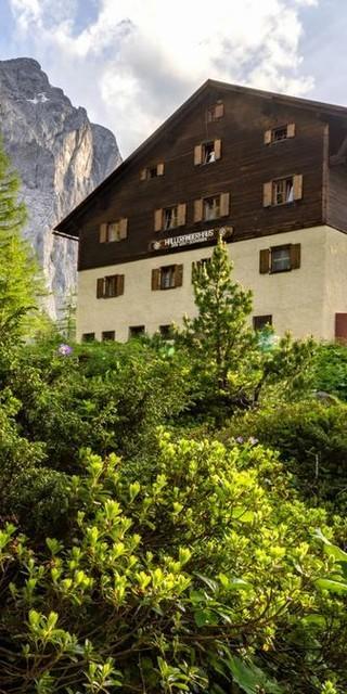 Hallangerhaus, Foto: DAV/Stefan Wolf