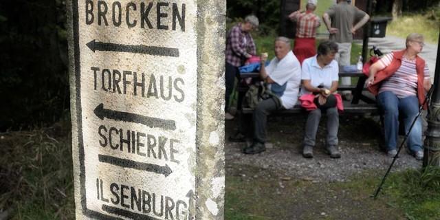 Vom Talort des Brockens geht es in den Harzer Wald. Foto: Folkert Lenz