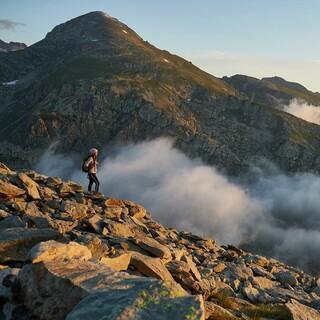 Blick auf den Mont Bégo vom Mont du Bec Roux aus, Foto: Stefan Neuhauser