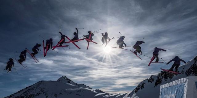 Freeskier, Stubaier Gletscher. Foto: Heinz Zak