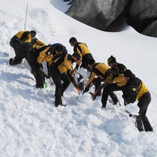 Winterübung einer SAC-Rettungsstation, Foto: zvg Alpine Rettung Schweiz