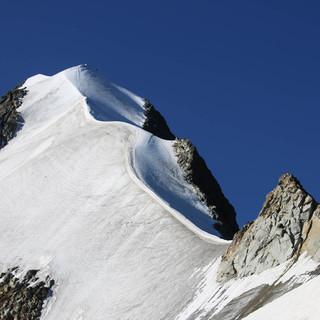 Noch herrschen am Biancograt recht günstige Tourenverhältnisse. Foto: M. Pröttel