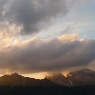 Wolkenbildung in den Bergen. Foto: Stefan Spieker
