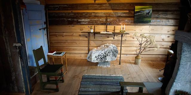 Die für Pilger eingerichtete Kapelle in Fokstugu. Foto: Joachim Chwaszcza