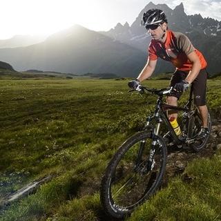 Biken in den Bergen