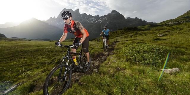 Mountainbiken und Naturschutz ist kein Widerspruch, Foto: DAV/Wolfgang Ehn