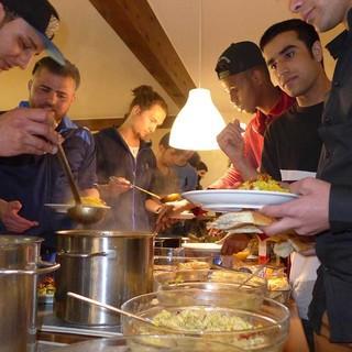 Kochen international, Foto: JDAV Bayern