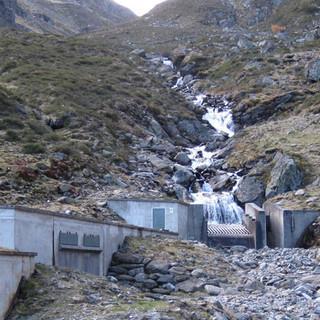 Ausbau der Wasserkraft muss in verträglichem Umfang geschehen, z.B. muss eine ausreichend hohe Restwassermenge gewährleistet sein. (Foto: DAV/F. Kaiser)