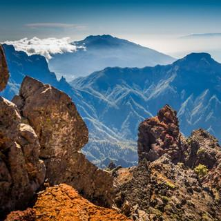 Bergwelt von La Palma. Foto: DAV Summit Club