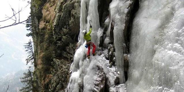 "Eisfall ""Superfeucht"" im Maltatal, Foto: ÖAV/Stefan Lieb-Lind"