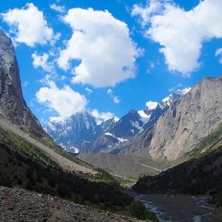 Das Aksu-Tal. Foto: NRW-Alpinkader