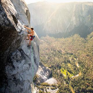 Alex Honnold an der Nose. Foto: Corey Rich