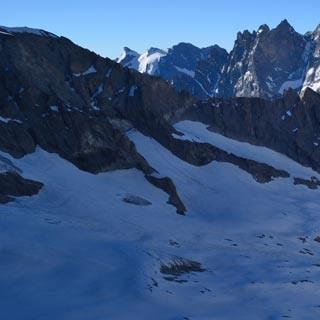 Meije - Die Größte! Nicht der höchste, aber vielleicht der interessanteste Gipfel ist die Meije.