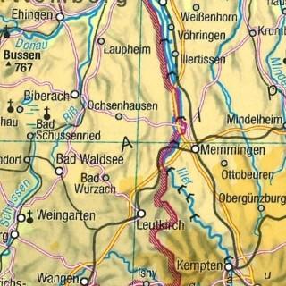 Karte Projektgebiet NAT1