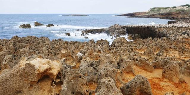 Die Klippen bieten eine Fülle von geologischen Besonderheiten, Foto: Jonas Kassner