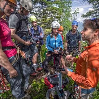 Klettersteig-Fortbildung, Foto: JDAV/Silvan Metz