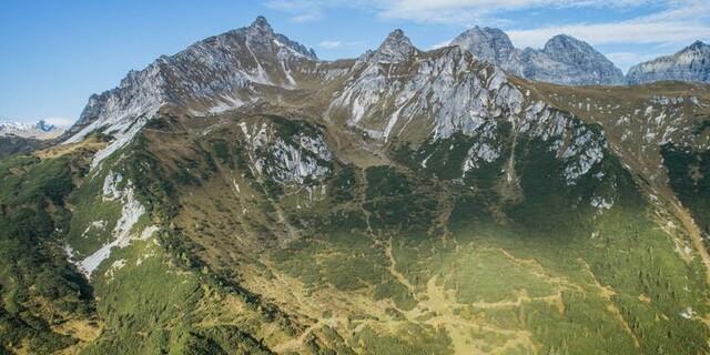 """Das Erschließungsgebiet: die """"Goldsutten"""". Foto: Alpenverein.at/Goldsutten.com"""
