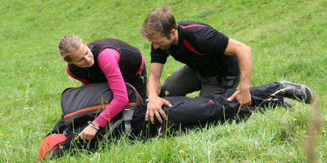 Alpine Erste Hilfe. Foto: Christine Frühholz