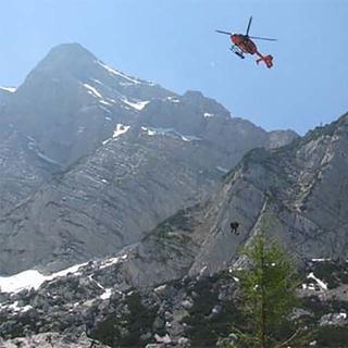Hubschrauberrettung, Foto: Archiv DAV