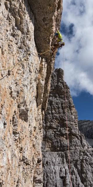 Wenns steil wird ist ein Haulbag angenehmer als ein Rucksack... Foto: Dörte Pietron