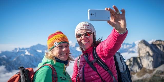 a7338166f5ba44 Das war unser Aprilscherz  Mitgliedschaft nur noch mit Bergsport-Selfie