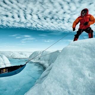 Stefan Glowacz auf Grönland, Foto: Thomas Ulrich