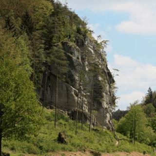 Schauplatz des letzten Unfalls: Der Richard-Wagner-Fels