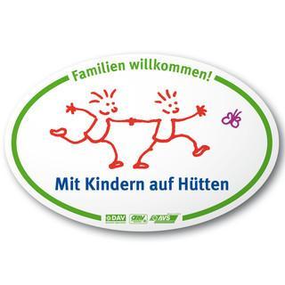 Mit Kindern auf Hütten Logo
