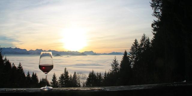 Aussicht von der Lenggrieser Hütte, Foto: Familie Duarch