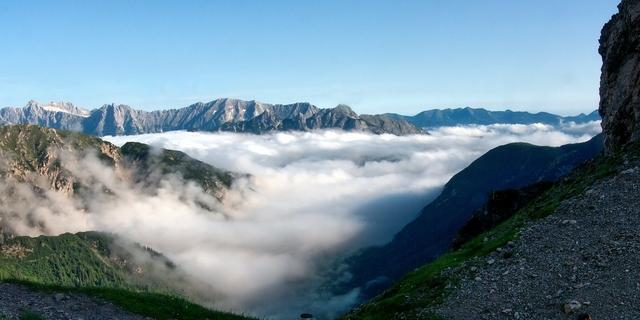Zahlreiche Tourenmöglichkeiten im Karwendel, Foto: Robert Fankhauser