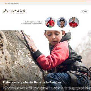 VAUDE Experience – Fotos, Videos, Texte von VAUDE Athleten für Bergliebhaberinnen und Bergliebhaber