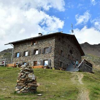 Die Oberetteshütte. Foto: Stefan Herbke