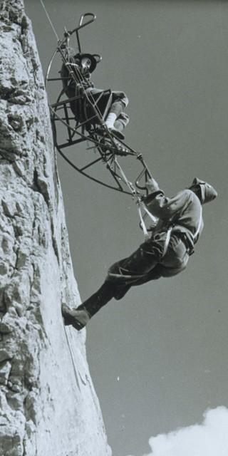 Einsatz unter schweren Bedingungen. Foto: Bergwacht Bayern